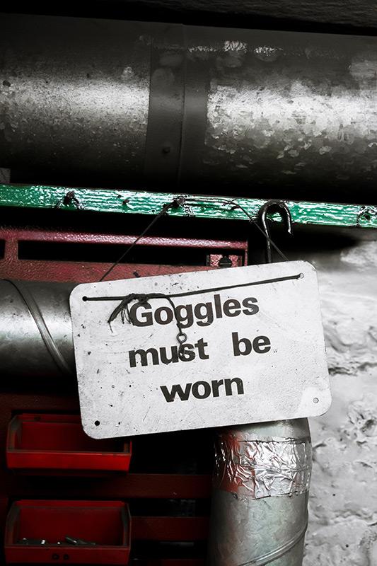 Safety Work Sign
