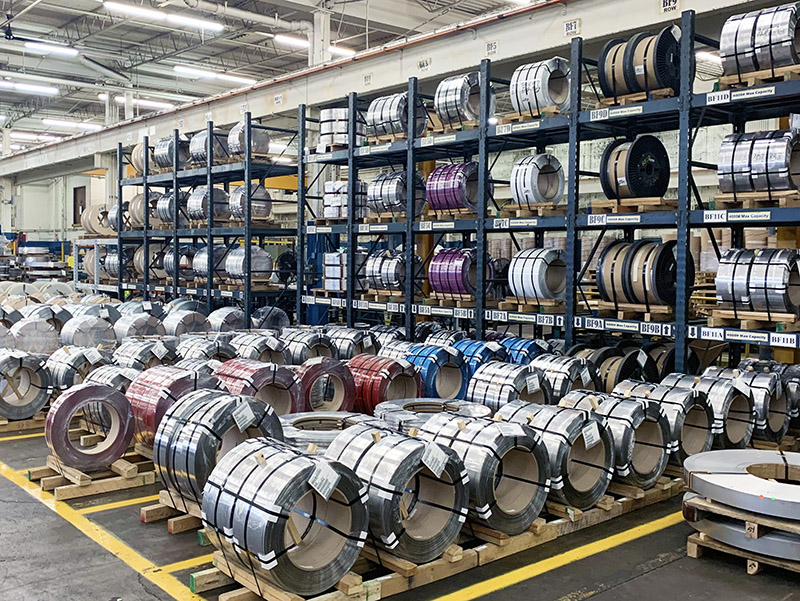 Stainless Steel Coil Inventory